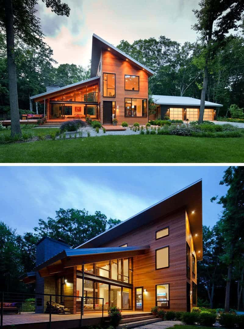 Fachadas De Casas Com Telhado Total Constru 231 227 O