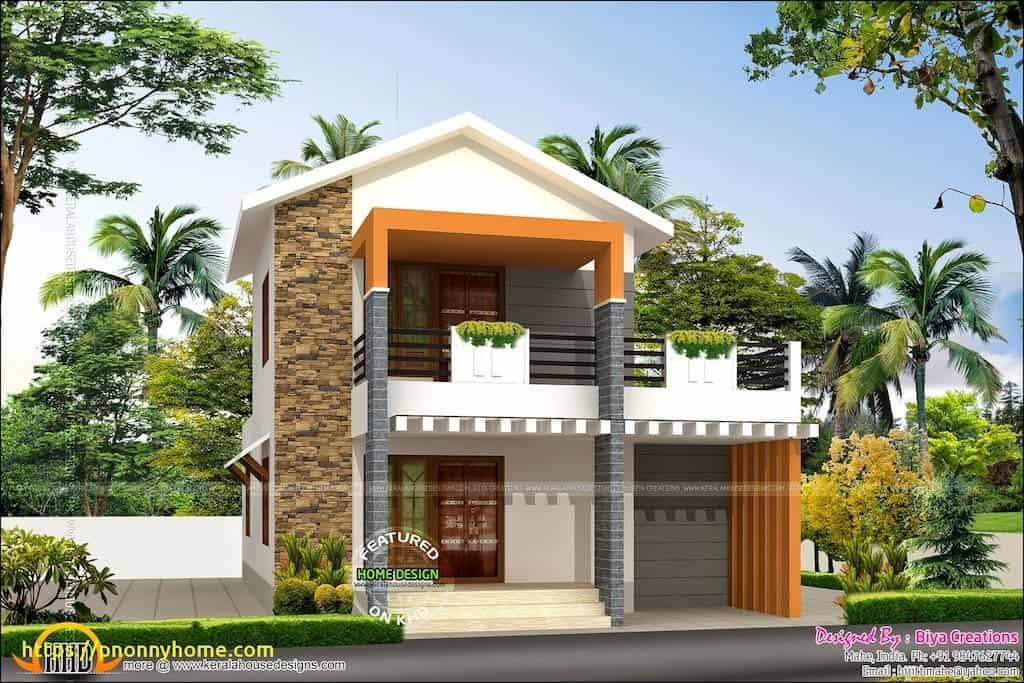 Merveilleux Indian Modern House Designs Double Floor New Modern House Front View Double  Floor ? Modern House