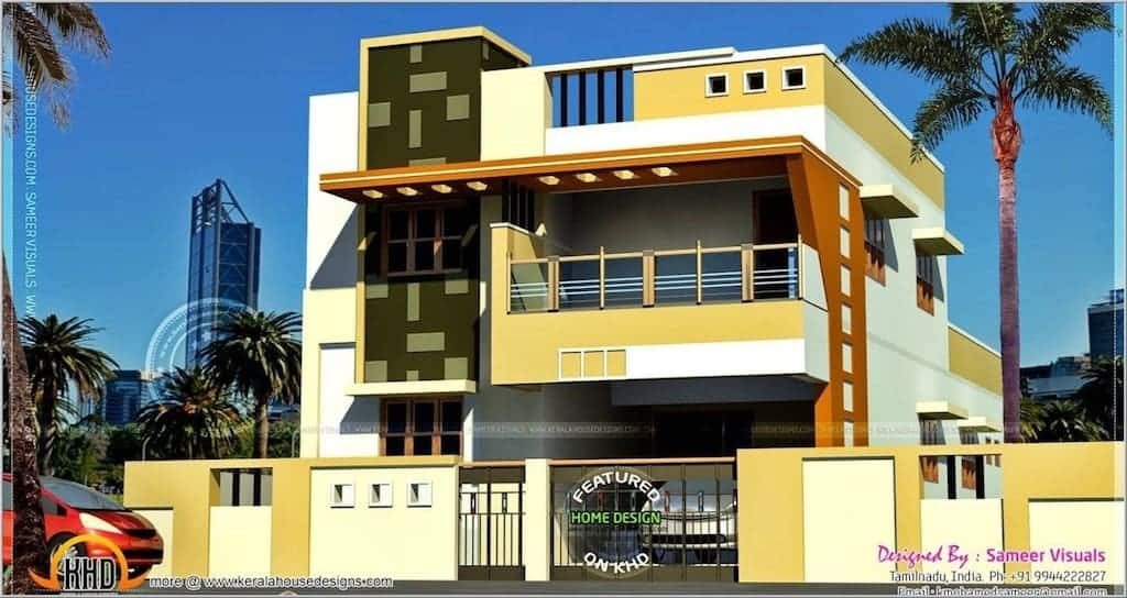 Gentil Best Modern South Indian House Design Kerala Home Design Floor Plans Image