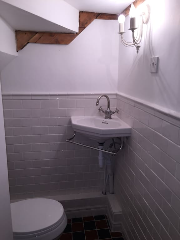 Permalink to Small Bathroom Under Stairs Ideas