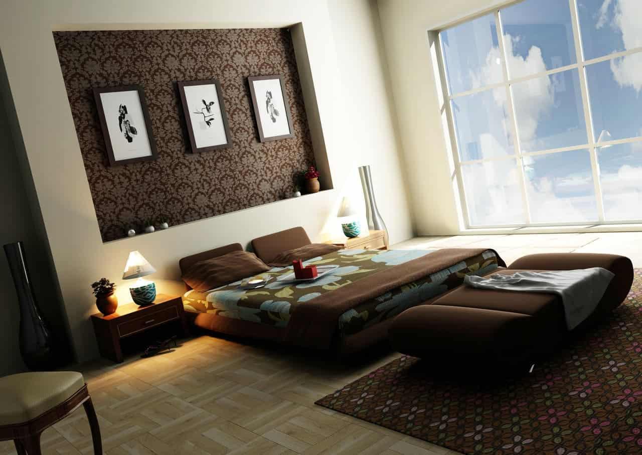 Quarto Casal Luxo 25 Or Amento De Obras ~ Decoração De Quarto De Casal Luxo