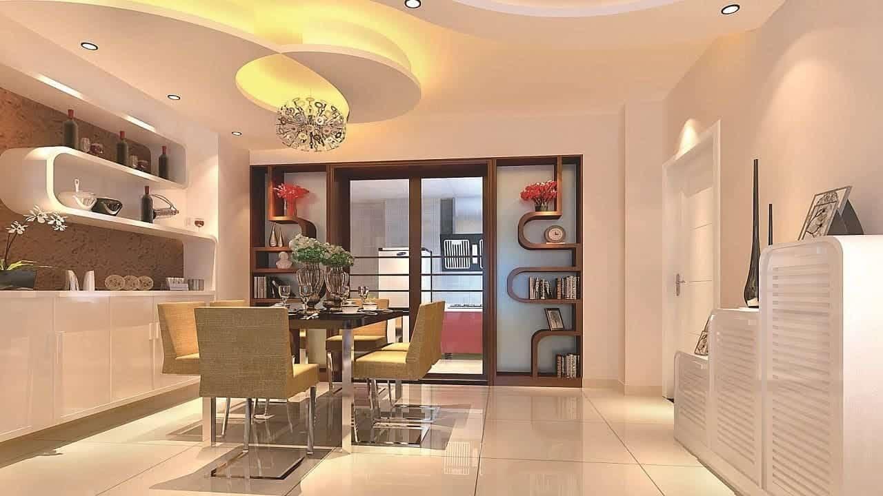 Sala com Gesso 3D - Orçamento de Obras