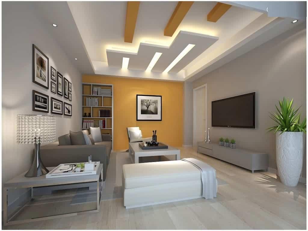 Sala Com Gesso 3d Total Constru 231 227 O