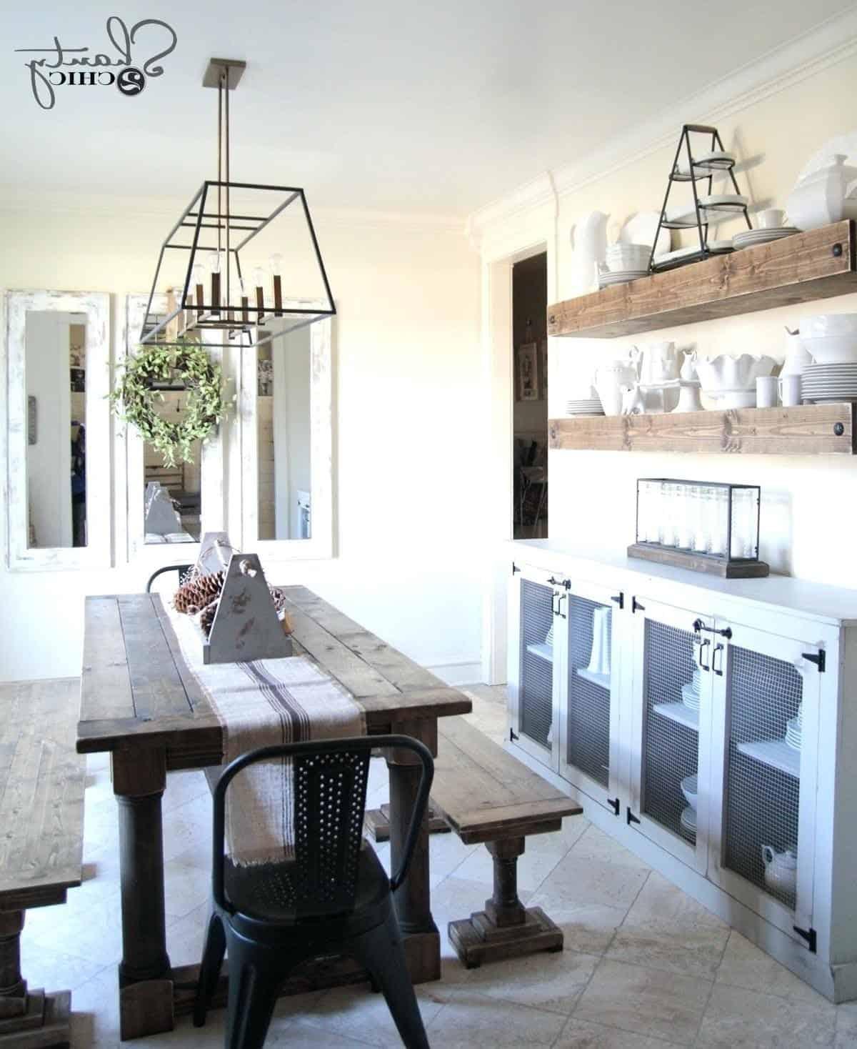 Sala De Jantar Pequena Com Espelho 102 Fotos E Ideias Total  -> Sala De Jantar Com Espelho E Aparador