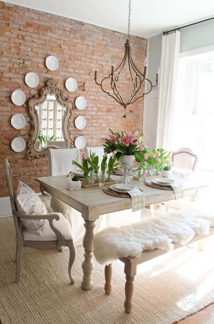 Sala De Jantar Pequena Com Espelho 102 Fotos E Ideias Total