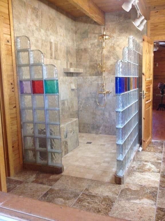 Tijolo De Vidro Vazado Medidas Colorido 101 Fotos E