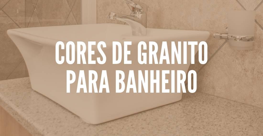 Cores de granito para banheiro