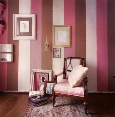 Resultado de imagem para parede Rosa e marrom