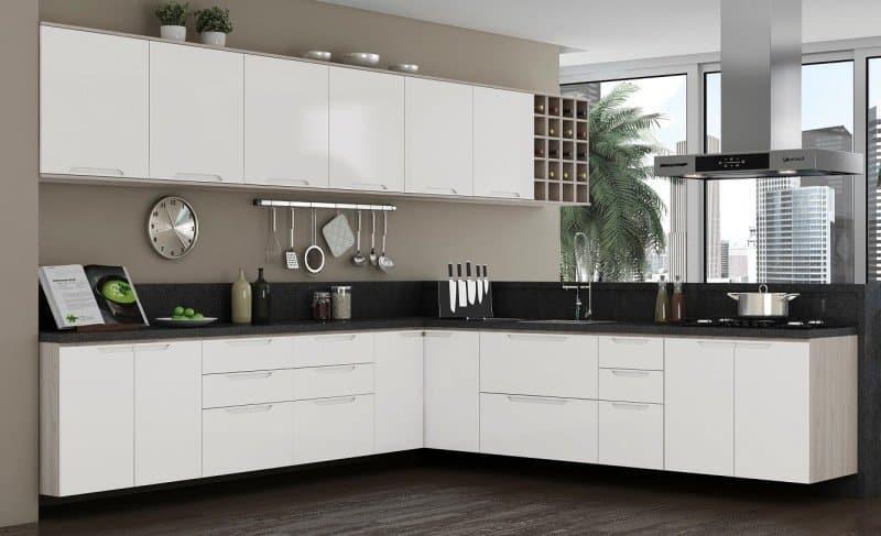 Resultado de imagem para Armário de cozinha modulado
