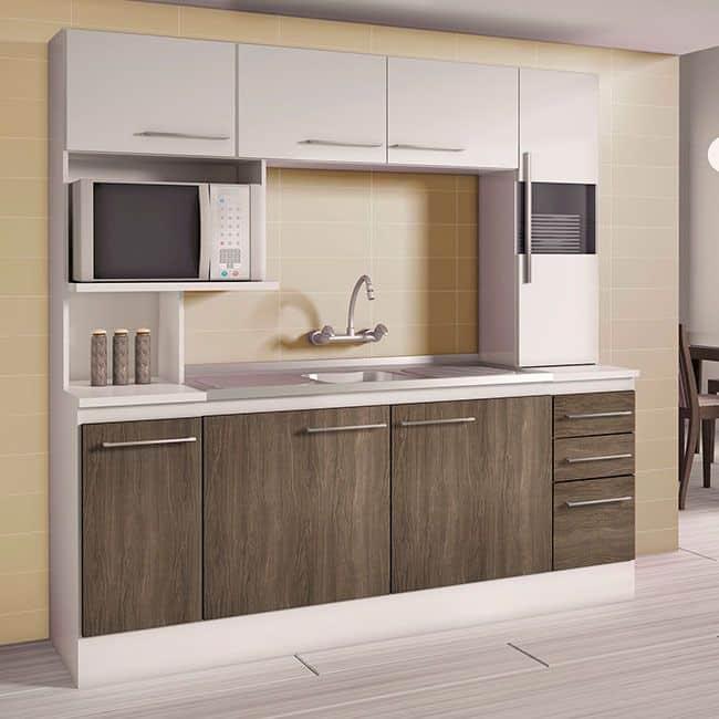 Resultado de imagem para Projeto de armário de cozinha de parede