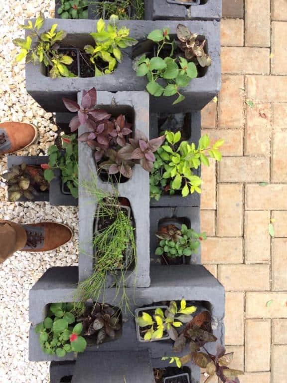 Decoração Para Jardim Pequeno Simples Pedras Etc Tc