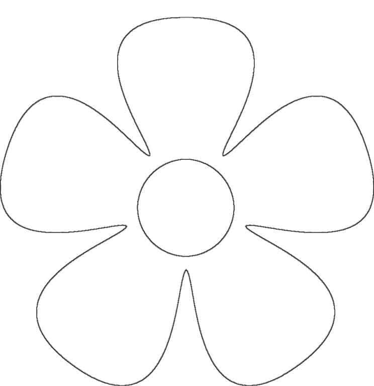 Modelo de molde para flores de EVA