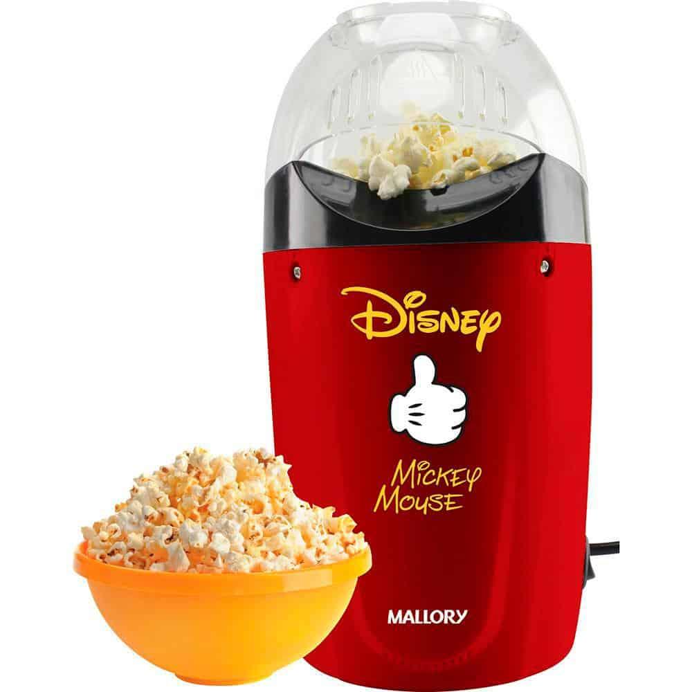 Pipoqueira elétrica Mallory Disney Mickey – Compacta e divertida