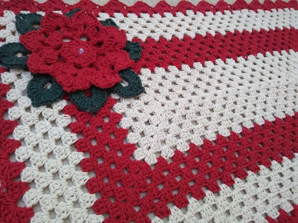 Como fazer flor de crochê: colchas