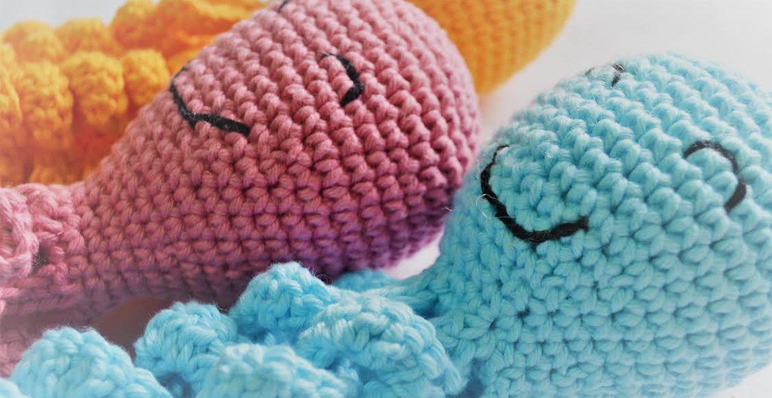 como fazer polvo de crochê