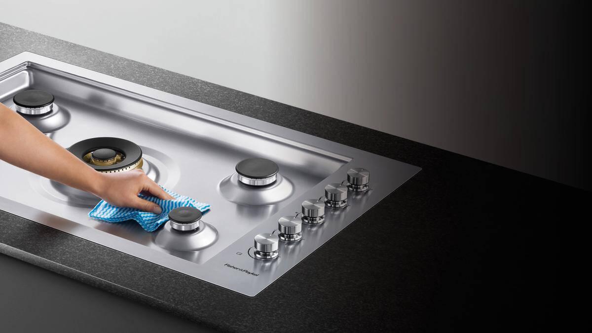 como limpar o fogão
