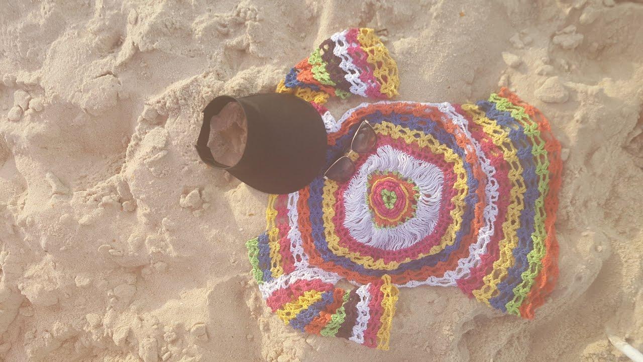 Como Fazer Saída de Praia de Crochê