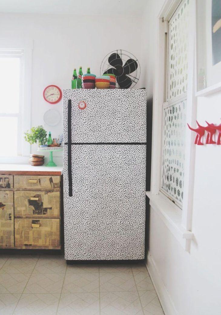 Decoração na geladeira