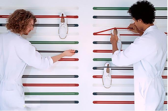 como organizar sapatos com elasticos