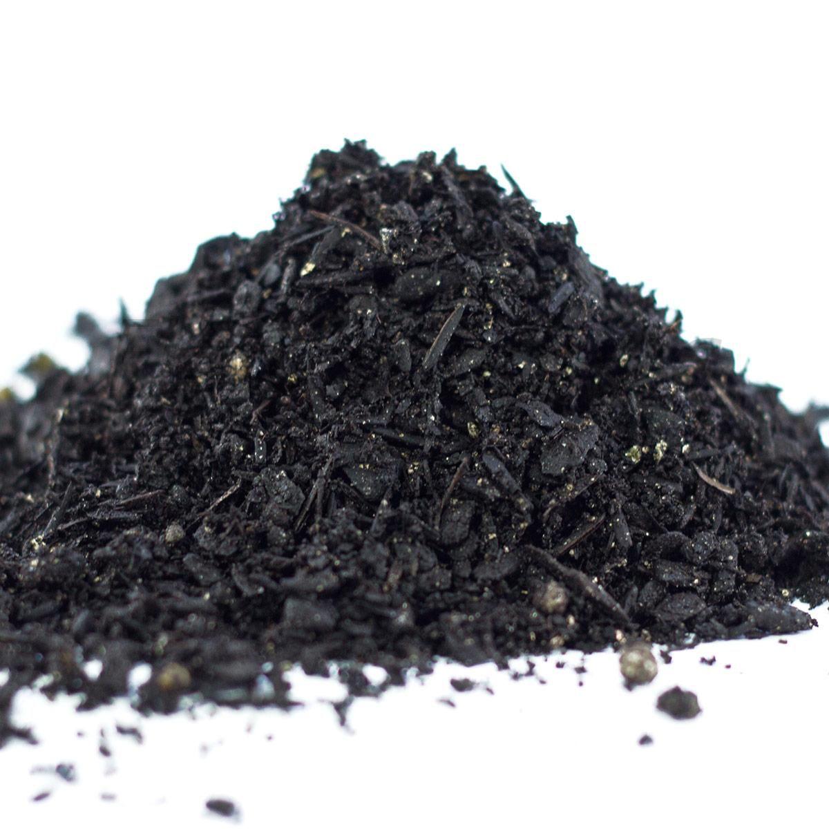 substrato para orquídeas: carvão