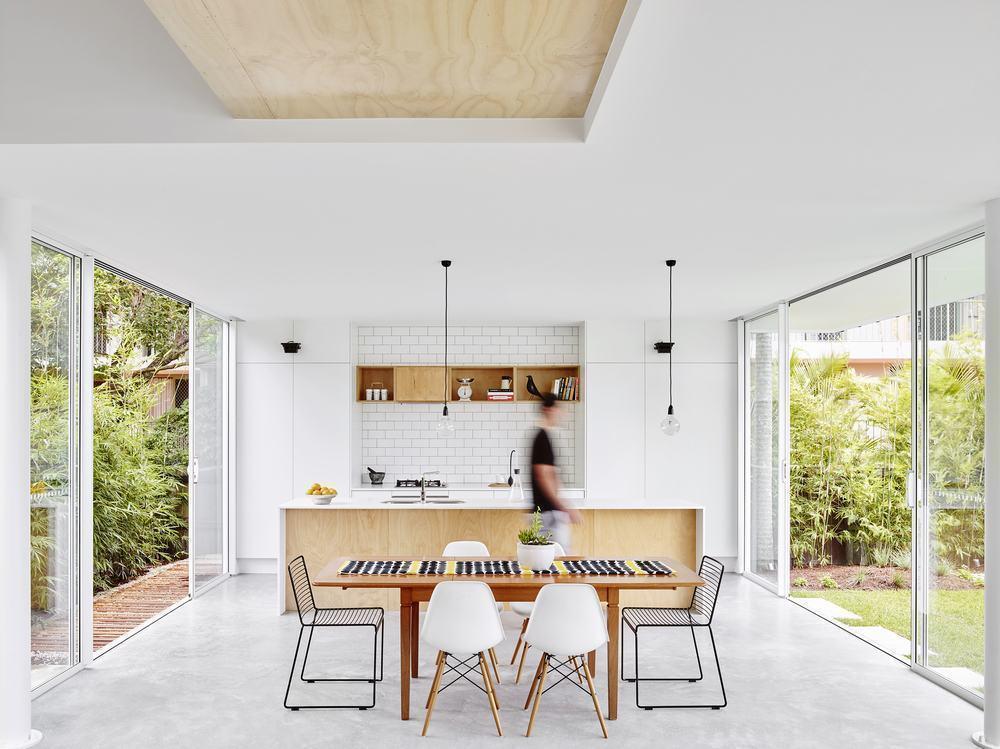 Modelo de cozinha aberta
