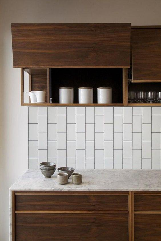 Subway tiles na vertical