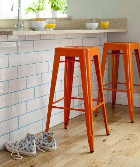 Subway tiles na cozinha