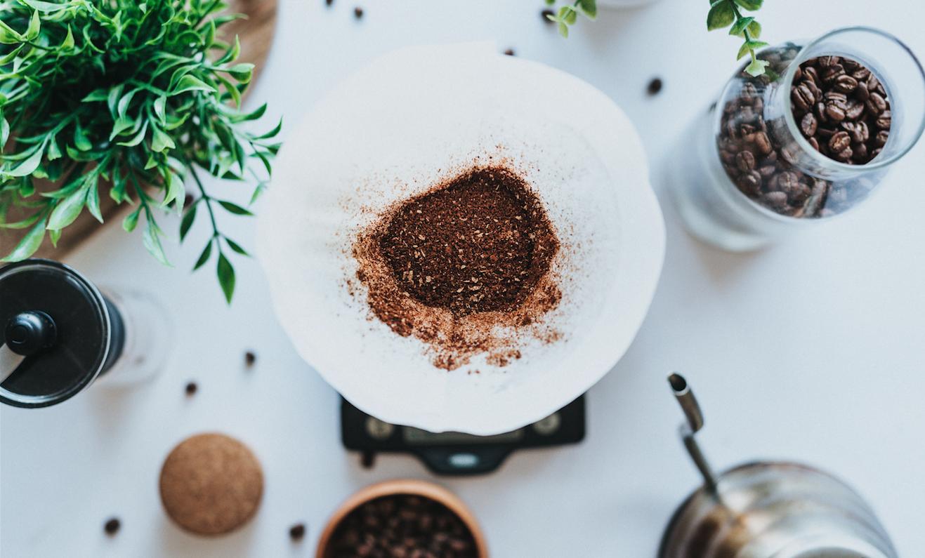 A borra de café nas orquídeas traz muitos benefícios.