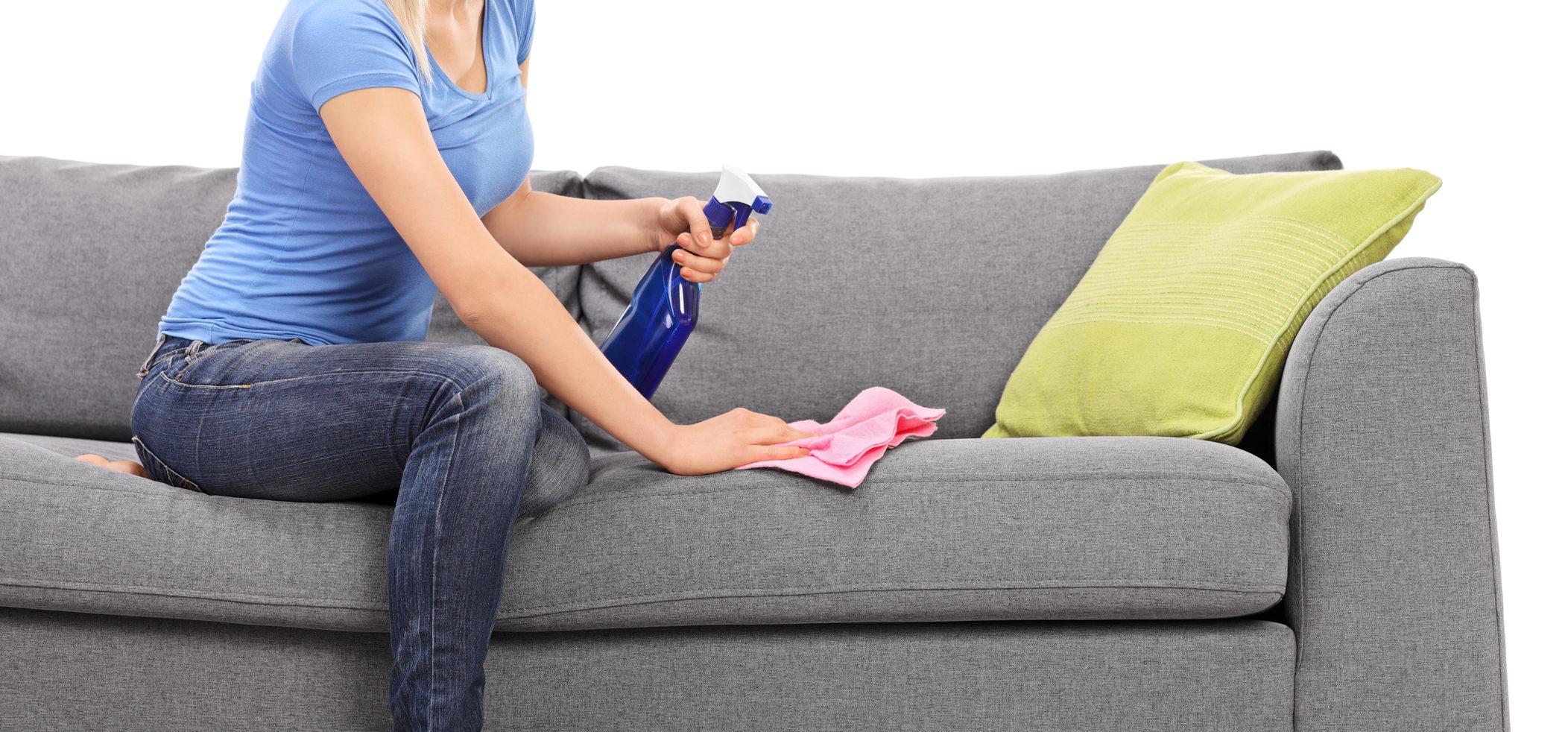 como limpar sofá de tecido muito sujo e encardido