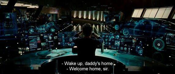 casa inteligente do Tony Stark