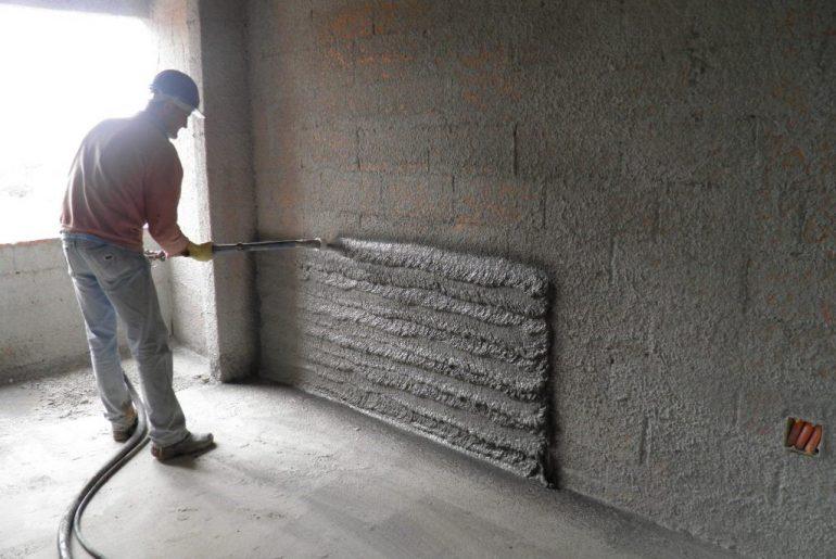 Como chapiscar parede