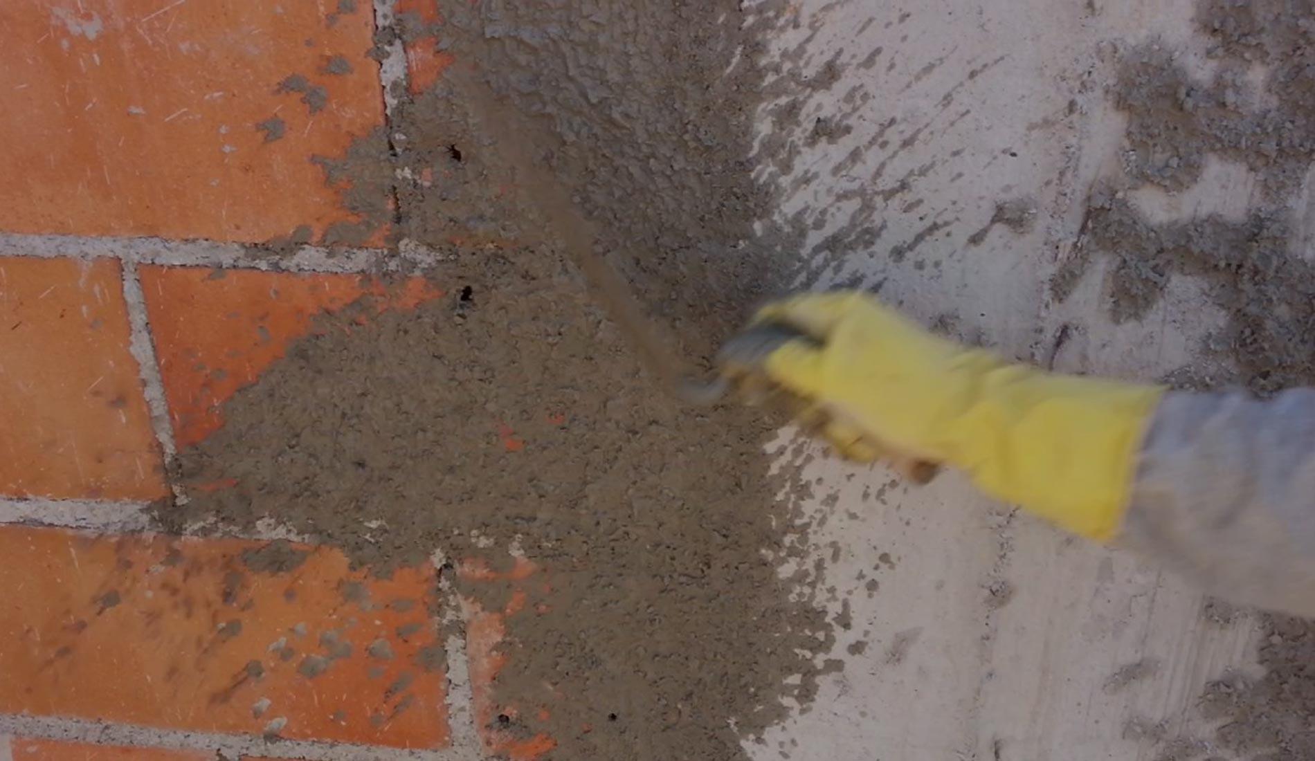 Passo a Passo de como chapiscar parede