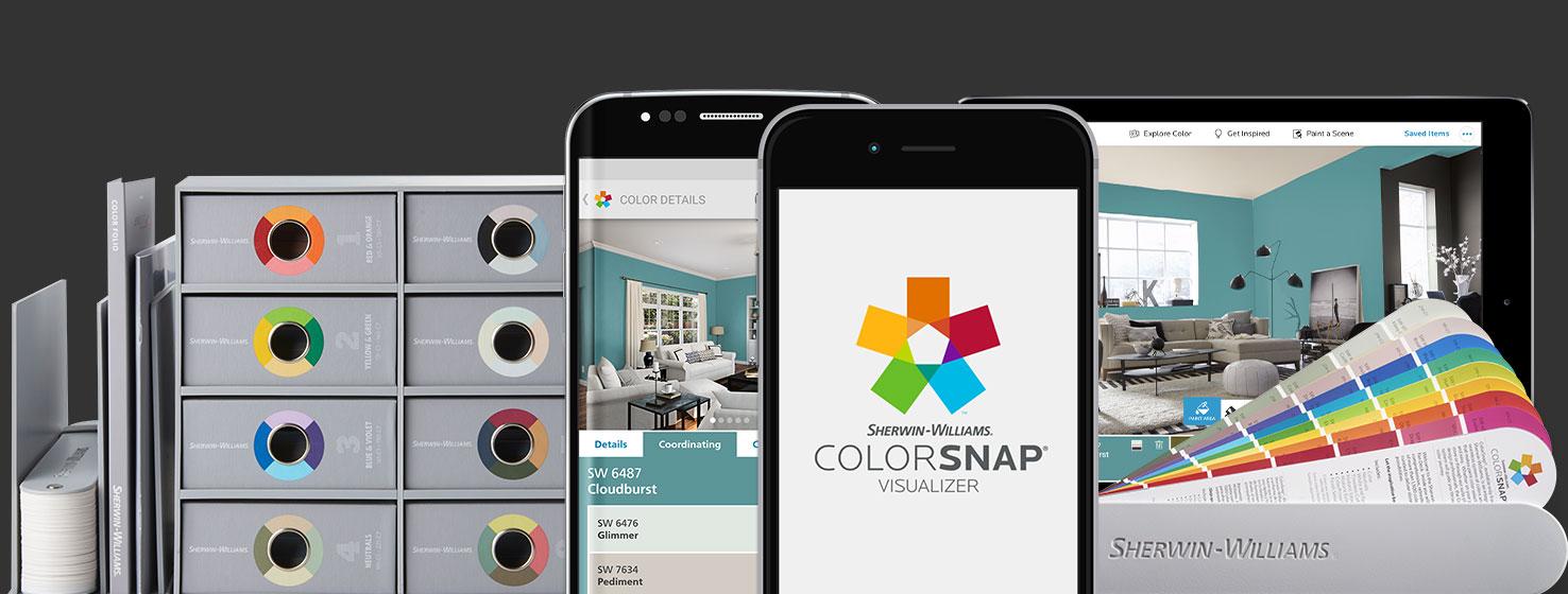 Simulador de Cores colorsnap