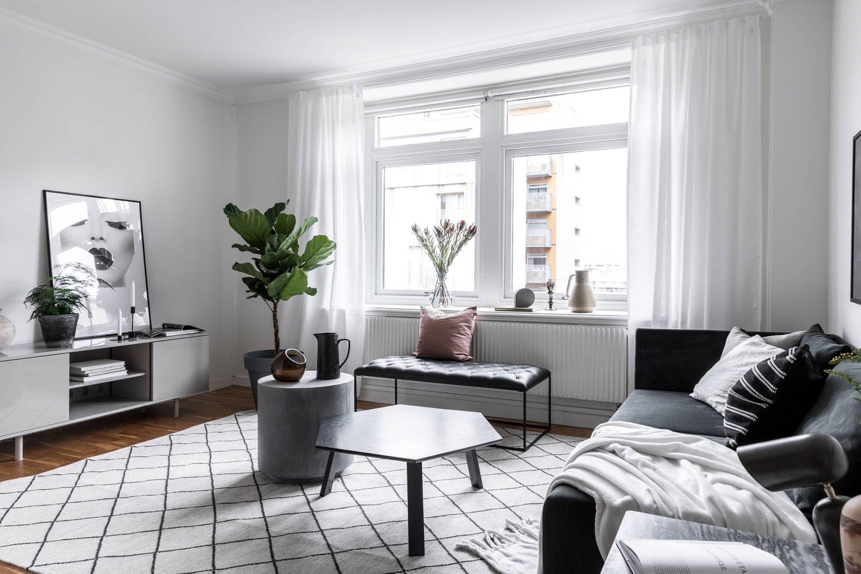 Você pode aplicar o estilo escandinavo em todos os ambientes da casa.