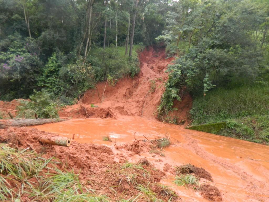 Deslizamento de lama