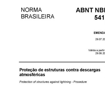 NBR 5419