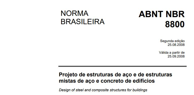 NBR 8800