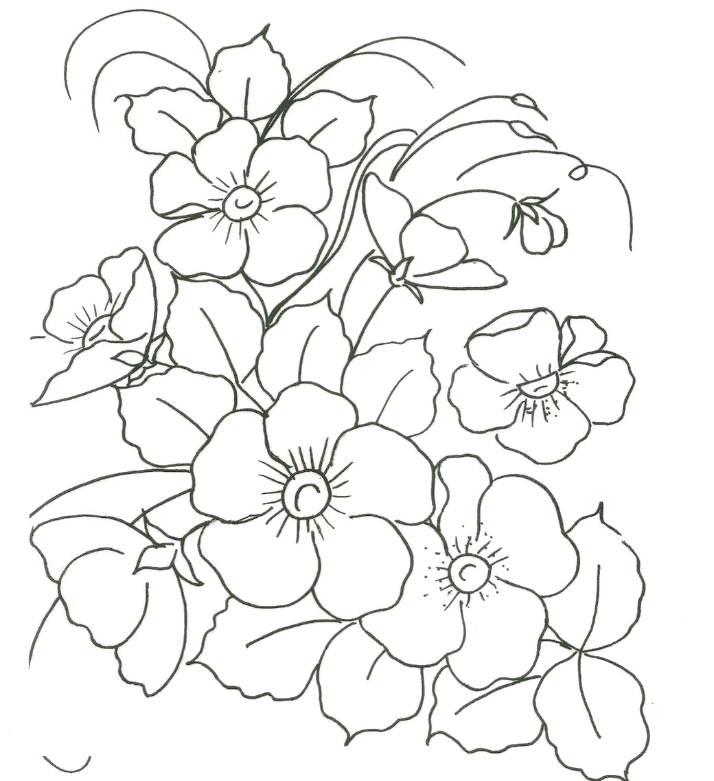 grafico ponto russo flores