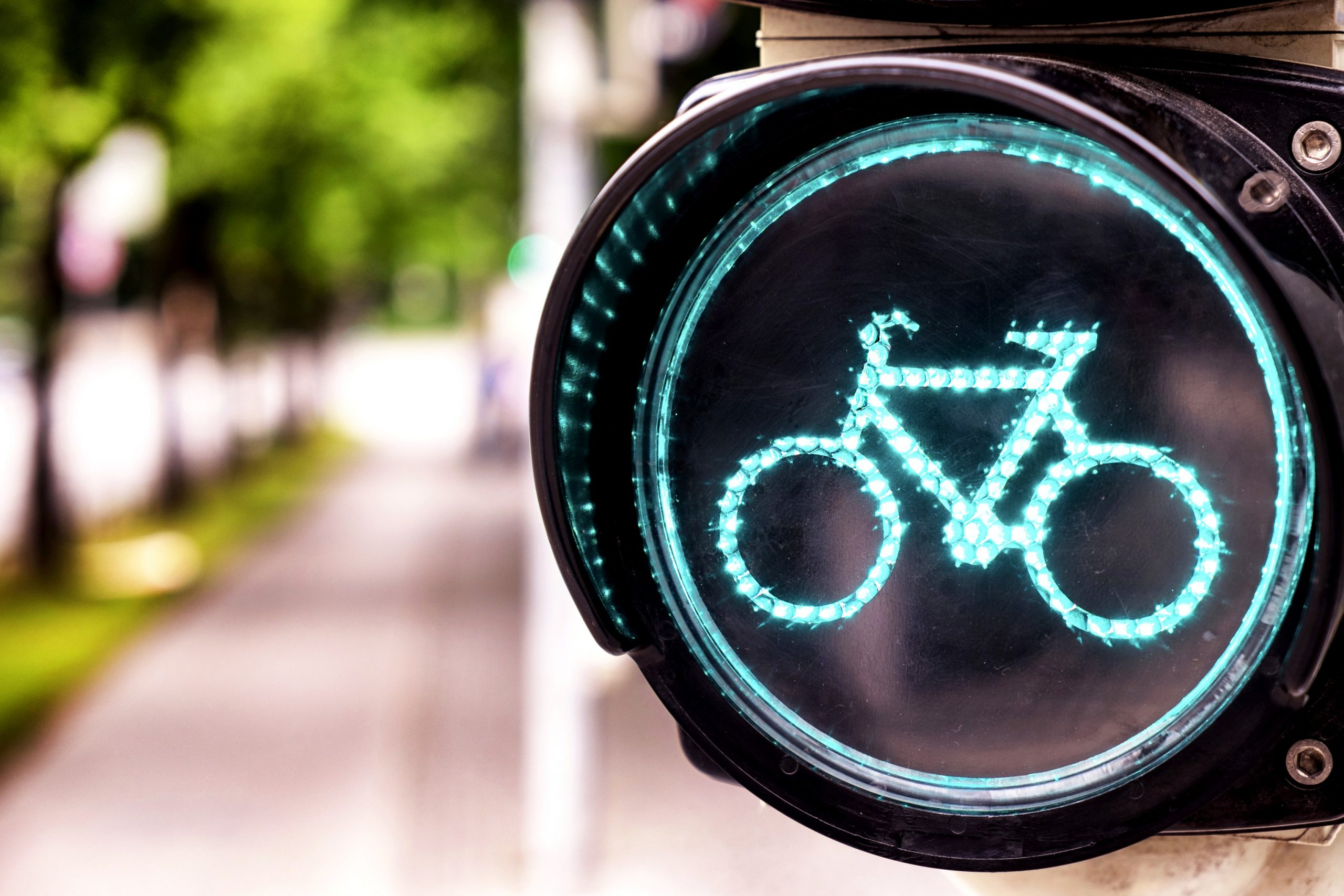 sinal de ciclovia para melhorar a mobilidade urbana