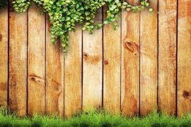cerca de madeira