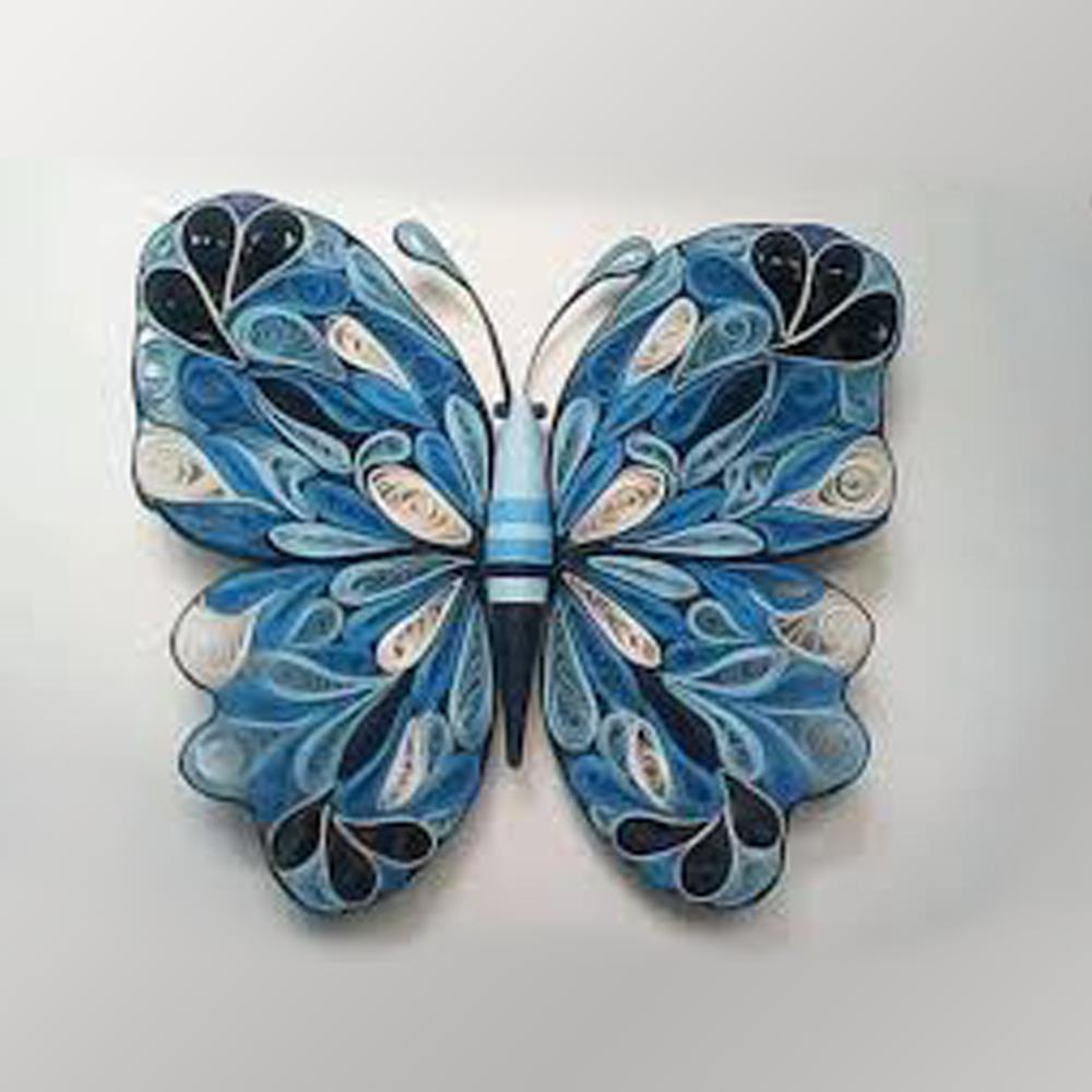 borboleta em quilling