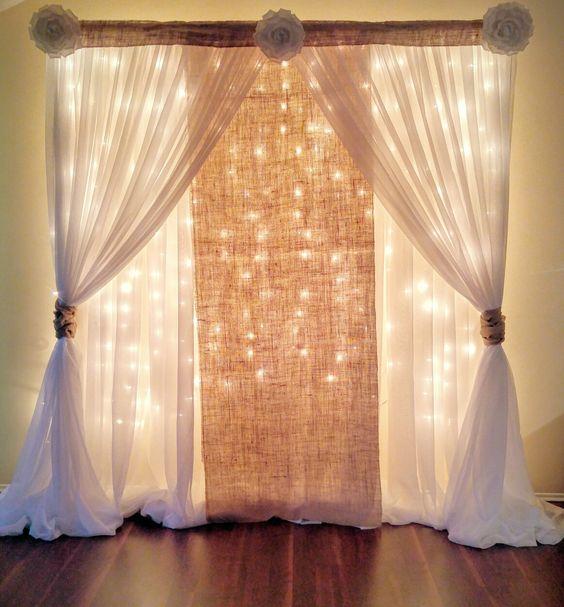 cortina voil festa