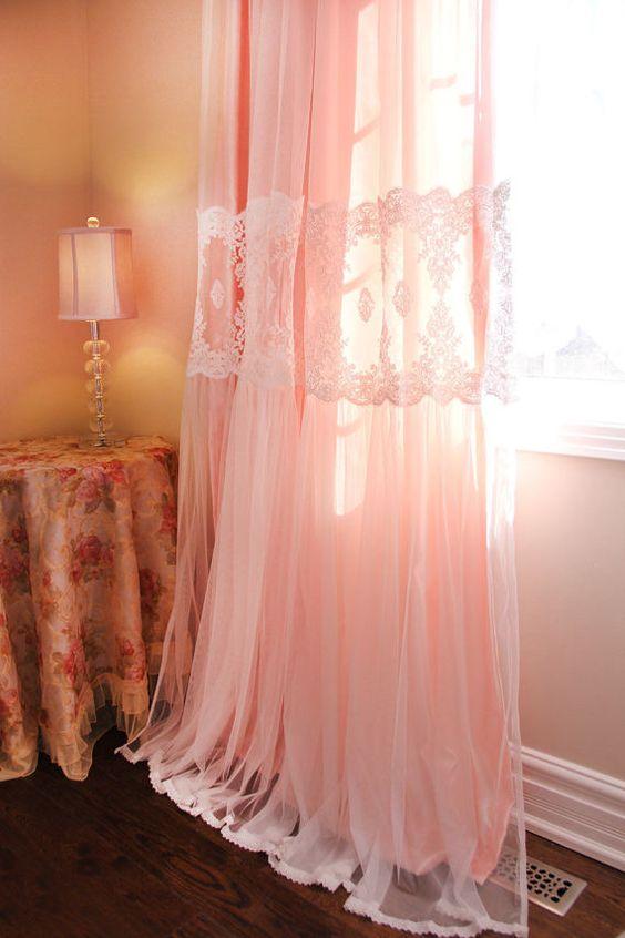 cortina voil longa
