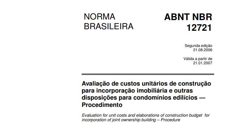 NBR 12721
