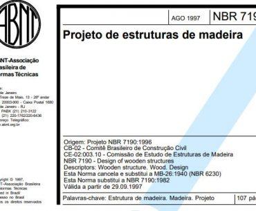 NBR 7190