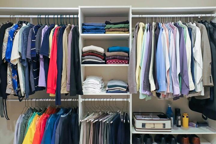 limpar guarda-roupa