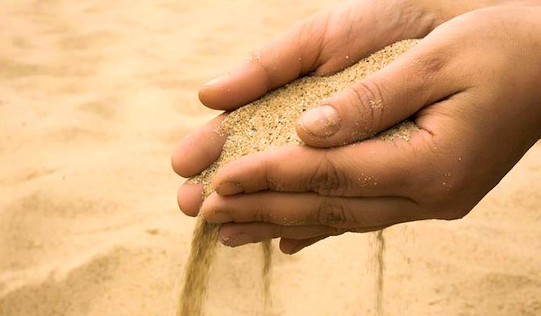 Tipos de areia