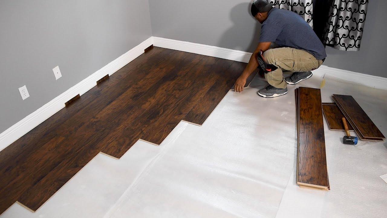 instalacao piso laminado