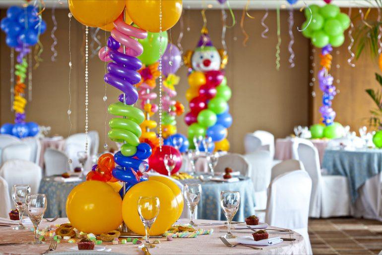 como organizar uma festa infantil decoração