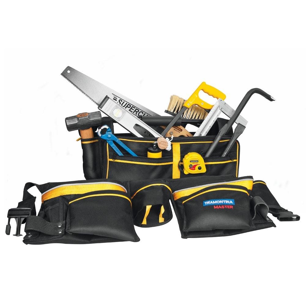 As ferramentas de um pedreiro